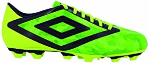 Umbro Geo Flare Club Fg, Chaussures de football homme - Vert (Cn3 Vert Camo/Mure/Jaune), 41 EU