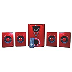 TNT- TA 4.1 Channel Multi Media Speakers with USB/ FM/ AUX input and Remote
