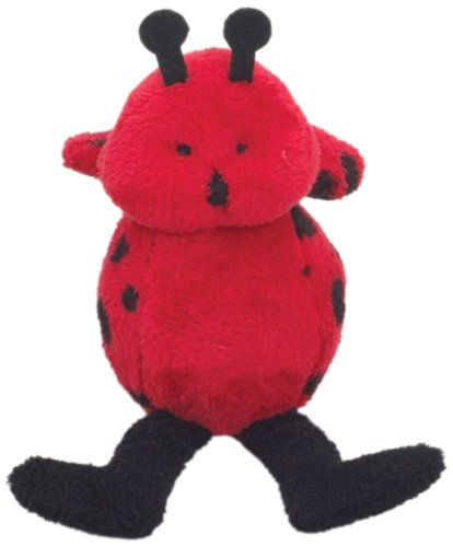Purr-Fection Tweedle Bouncy Buddy Ladybug Plush - 1