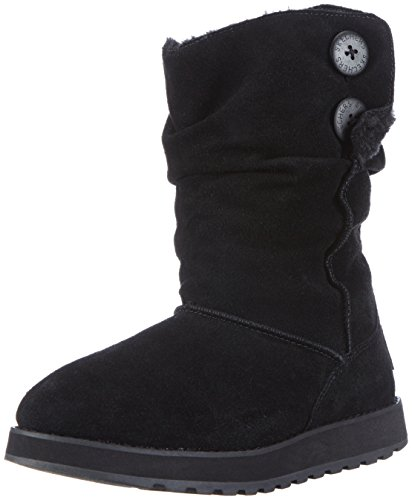 Skechers Keepsakes Freezing Temps 47221 BLK, Stivali donna, Nero (Schwarz/BLK), 40