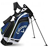 Callaway Hyper-Lite 5 Stand Bag, Blue/White/Yellow