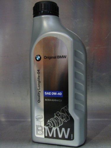 BMW Original Motorenöl LL04 SAE 0W-40 / 1-Liter-Dose