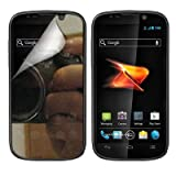 CoverON MIRROR TRANSPARENT LCD Screen Protector Shield for ZTE N861 WARP 2 / SEQUENT BOOST MOBILE [WCA691]