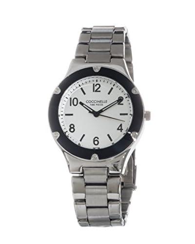 Coccinelle Reloj de cuarzo Plata 40 mm