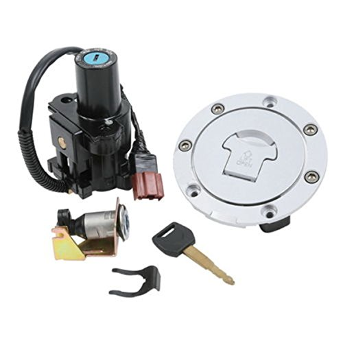 Ignition Switch Lock + Fuel Gas Cap Key Set For Honda CBR1000RR 2004-2007 2005 (Freightliner Battery Cover compare prices)