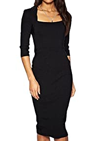Viwenni� Women's Chic Summer Solid Re…