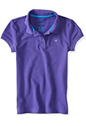 P.S. From Aeropostale Girls Solid Piqu? Polo Shirt