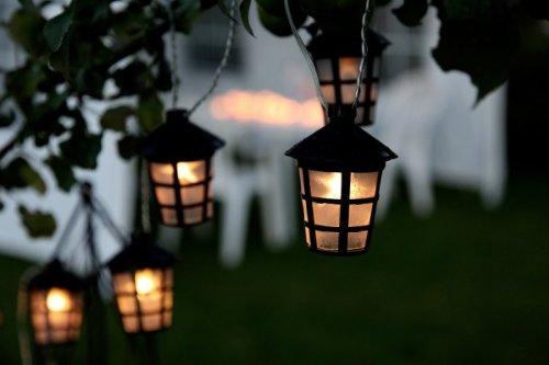 LED-Lichterkette-Party-Laternen-rund-bunt-oder-weiss-fr-Auen-geeignet-Farbebunt