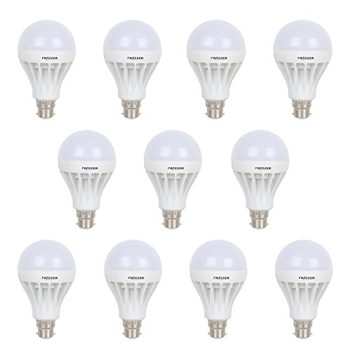 5 W LED Bulb (White, Pack of 12)