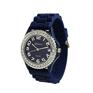 mens womens blue silicone large