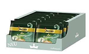 Jacobs Krönung Crema Balance, Pack of 12, 12 x 16 Coffee Pods