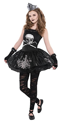 [Girls Zomberina Ballerina Zombie Costume - Size Large (12-14)] (Party City Zombie Costume For Girls)