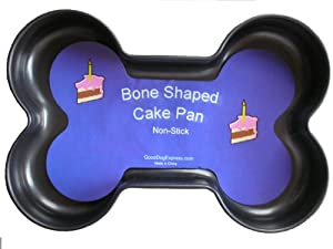 Bone Shaped Non-Stick Cake Pan - 9.25 inch x 6.25 inch by Good Dog Express, Inc.