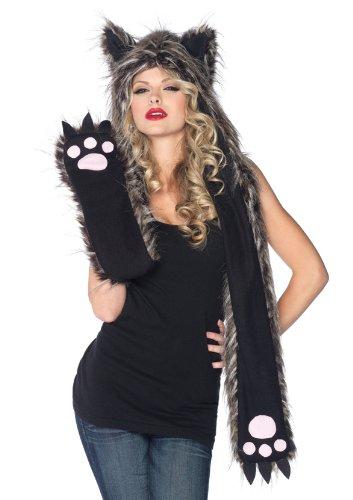 Adult Plush Wolf