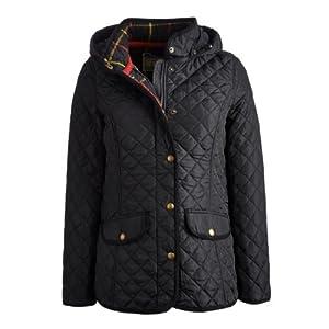 Joules Marcotte Quilted Ladies Jacket (P) - Black - 20