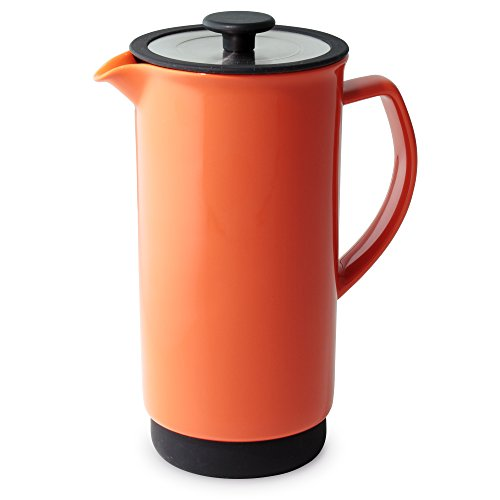Forlife Cafe Style Coffee/Tea Press, 32-Ounce, Carrot