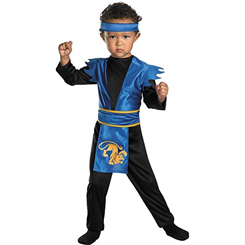 Midnight Ninja Toddler Costume - 1