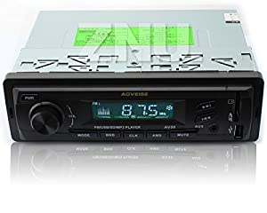 ZNU AUDIO Radio/WMA/MP3/USB/SD AUX In Dash Car MP3 Player AM/FM Receiver Stereo System