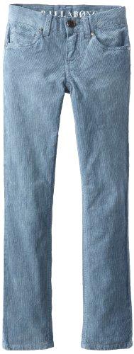Billabong Big Boys' Fifty Cord Pant, Washed Granite, 27 front-885227