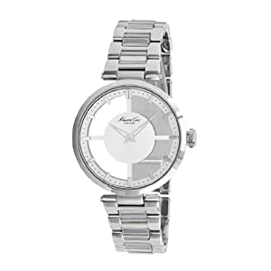 Kenneth Cole New York Women's KC4727 Transparency Classic See-Thru Dial Round Case Watch