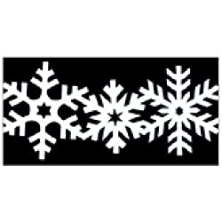 Martha Stewart Crafts Deep Double Edge Punch, Snowflake
