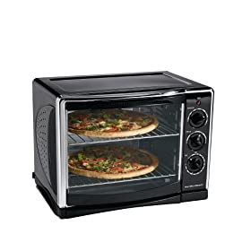 Hamilton Beach 31197 Countertop Oven with Convection and Rotisserie