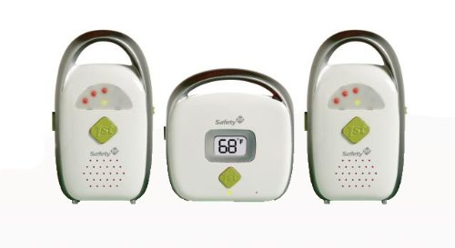 Safety 1st Glow and Go Duo Baby Monitor, White