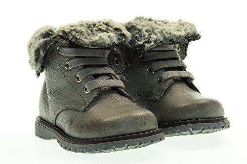 NERO GIARDINI JUNIOR boot con pelliccia A621930F/104 20 Grigio