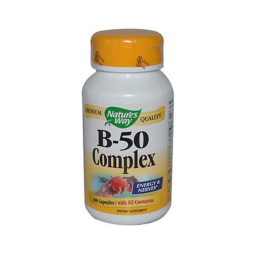 Natures Way Vitamin B50 Complex 100 Capsules