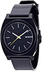 NIXON watch THE TIME TELLER P BLACK NA119000-00