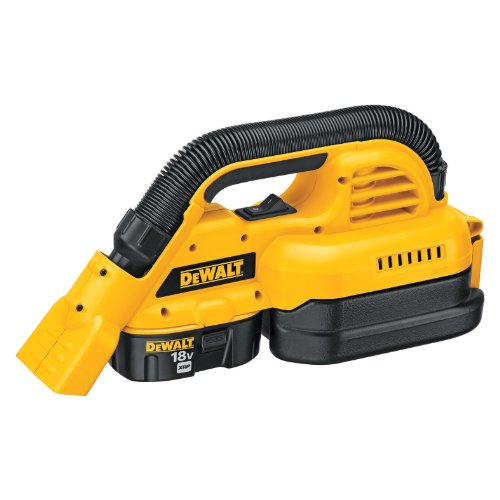 Great Features Of DEWALT DC515K 1/2 Gallon 18-Volt NiCd Cordless Wet/Dry Vac