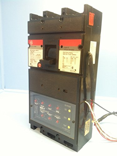 Ge General Electric Tjl6S 600 Amp High Ic Circuit Breaker W 600A Plug & Aux Lsig