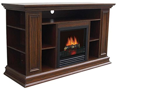 Stonegate Electric Fireplace/Entertainment Center - 4260 BTU, Oak Finish, Model# FP10-27-11-50