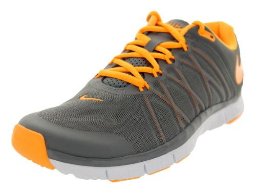 the best attitude e74a1 d34bf Nike Men s Free Trainer 3 0 Cool Grey Atomic Mango White Training Shoe 13  Men