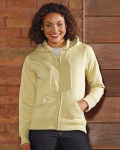 econscious Women's Organic/Recycled Full-Zip Hoodie in your choice of colors