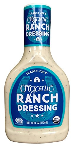 Trader Joes Organic Ranch Dressing 16 Oz (Trader Joes Black Pepper Sauce compare prices)