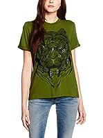 Just Cavalli Camiseta Manga Corta (Verde)