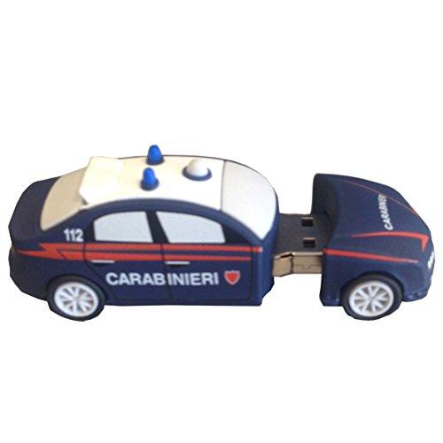 giemme-articulos-de-promocion-memoria-usb-8-gb-diseno-de-alfa-romeo-159-carabinieri-producto-oficial