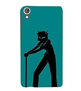 EPICCASE Devil boy Mobile Back Case Cover For HTC Desire 820 (Designer Case)
