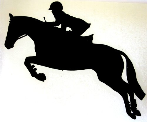 English Equestrian Hunter Jumper Horse Decal Discount Review ShopJumping Horse Silhouette Clip Art