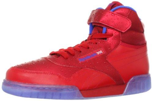 Reebok Men'S Exofit Plus Hi R13 Sneaker,Rain/Excellent Red/Vital Blue/Ice,10.5 M Us front-957290