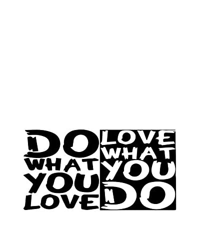 Ambiance-sticker Vinile Decorativo Quote Do What You Love