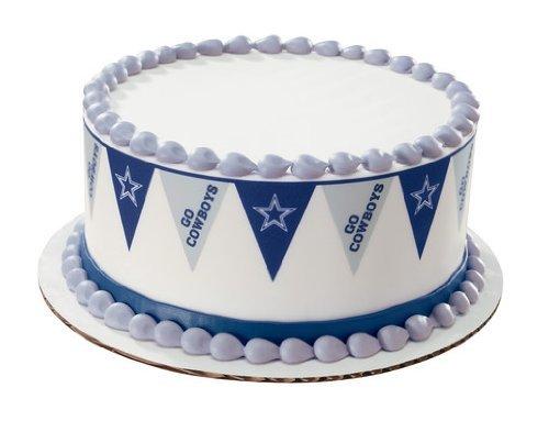 Dallas Cowboys Ice Cream Cake