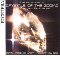 Crystals of the Zodiac for Piano & Percussion