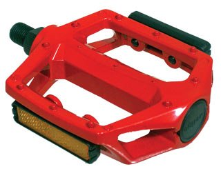 Curb DOG Kicker 1/2 Alloy Red Bmx / Mx Pedals