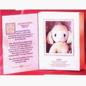 Tender Tails Lamb in Bible Box by Enesco Precious Moments