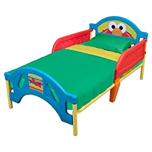 Sesame Street Toddler Bed plástico