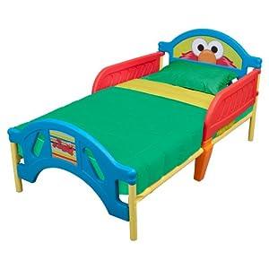 Sesame Street Toddler Bed plástico