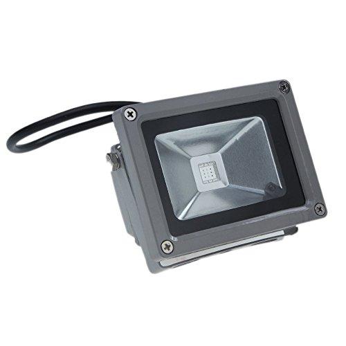 wonenice waterproof 10w rgb 16 color changing outdoor remote control led flood light cameras. Black Bedroom Furniture Sets. Home Design Ideas