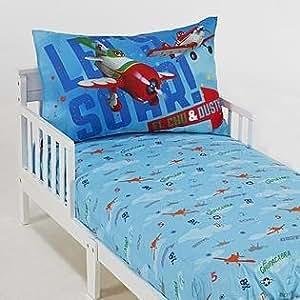 Amazon Disney Planes 2 Piece Toddler Bed Set Fits